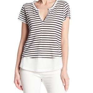 Sanctuary Striped Mix Striped Tee